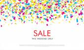 Sale. This weekend only — Stock Vector
