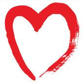 Cupid's heart — Stock Vector