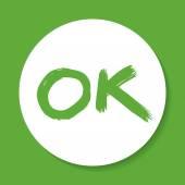 OK sign — Stock Vector