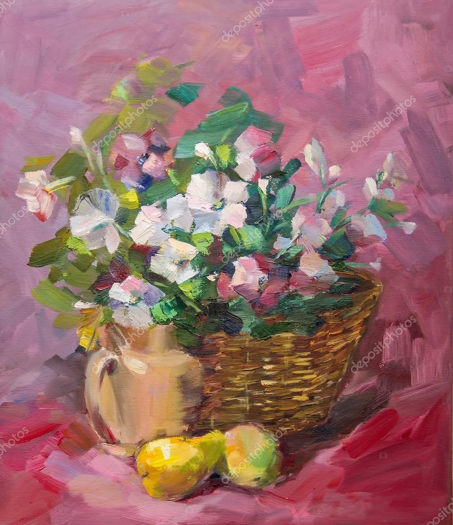 Peinture l huile style de l impressionnisme la texture for Style de peinture