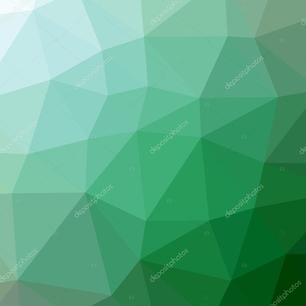 Los Triángulos De Fondo. De Color Verde. Patrón