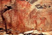 Rock painting close-up — Photo