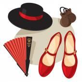 Flamenco object — Stock Vector