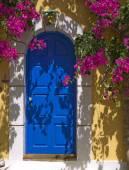 ギリシャのドア — ストック写真