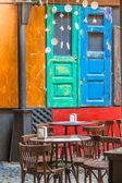 Acogedora cafetería — Foto de Stock