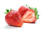 Beautiful fresh strawberries — Stock Photo