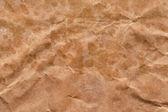 Brown Recycle Kraft Paper Bag Crumpled Grunge Texture Sample — Stock Photo