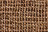 Artist Jute Canvas Unprimed Coarse Bleached Mottled Grunge Texture — Stock Photo