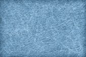Antique Blue Animal Skin Parchment Grunge Texture Sample — Stock Photo