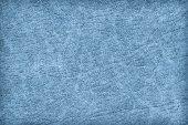 Antika mavi hayvan deri parşömen Grunge doku örneği — Stok fotoğraf