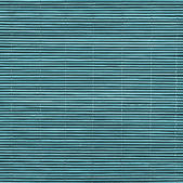 Straw Place Mat Bleached and Stained Cyan Grunge Texture Sample — Stock Photo