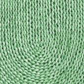 Raffia Place Mat Plaited Bleached and Stained Green Grunge Texture Sample — Stock Photo