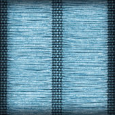 Paper Parchment Plaited Place Mat Cyan Blue Stained Vignette Grunge Texture Sample — Stock Photo