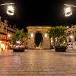 ������, ������: Porte Guillaume square in Dijon France