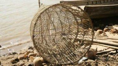 Bamboo fish t — Stock Video