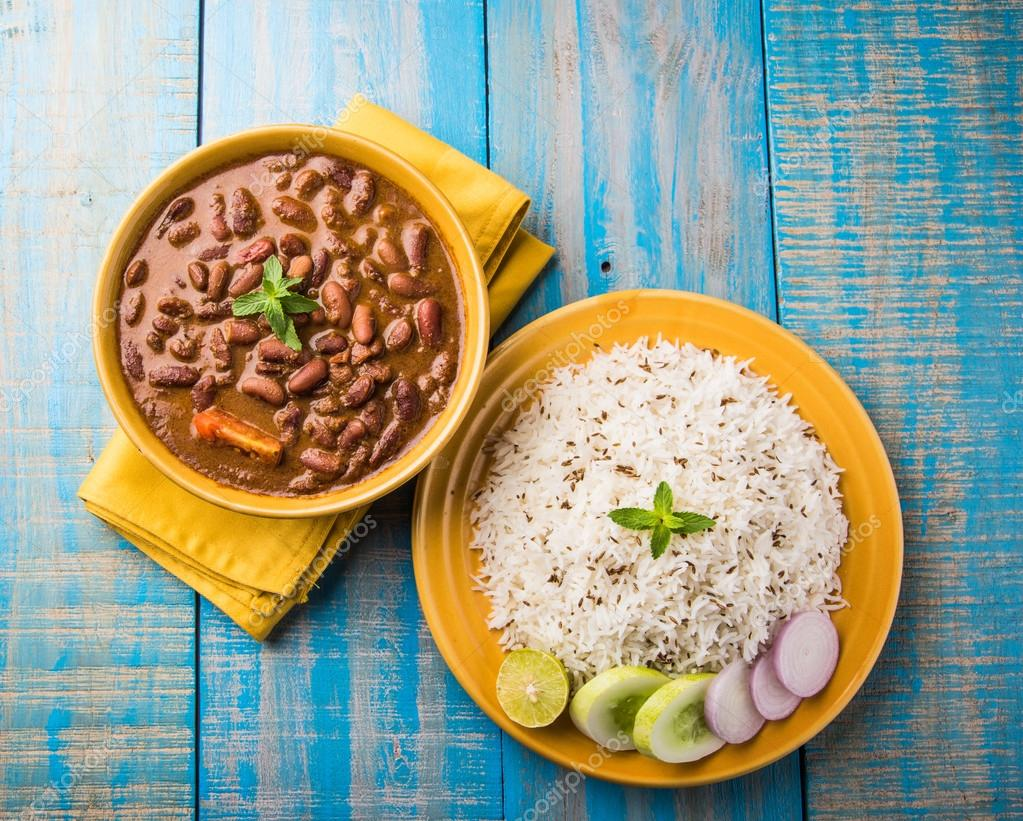 how to make red kidney beans curry