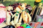 Hand made toys — Stock Photo