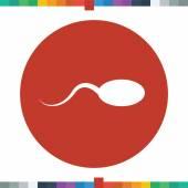 Sperm icon. — Stock Vector