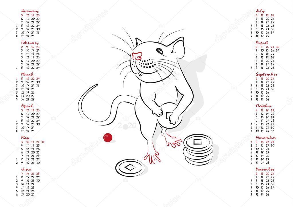 Крысы в китайском календаре