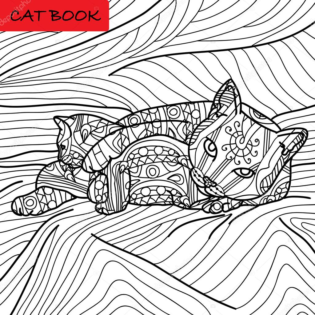 Get Cat Coloring Pages for Adults  Microsoft Store
