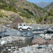 Постер, плакат: 4WD crossing creek on La Palma Canary Islands Spain