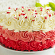 ������, ������: The torte of a three colors roses