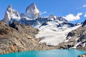 Lagoon, Fitz Roy, El Chalten, Argentina — Stock Photo