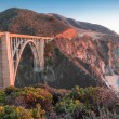 Постер, плакат: Sunset over Bixby Bridge Big Sur California