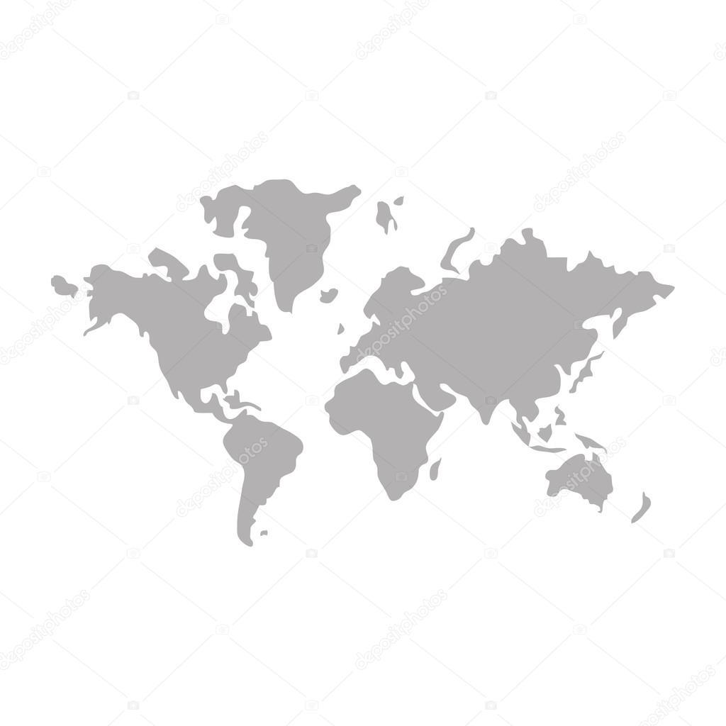 Disegno di icona del programma di mondo vettoriale stock for Disegno del programma di casa
