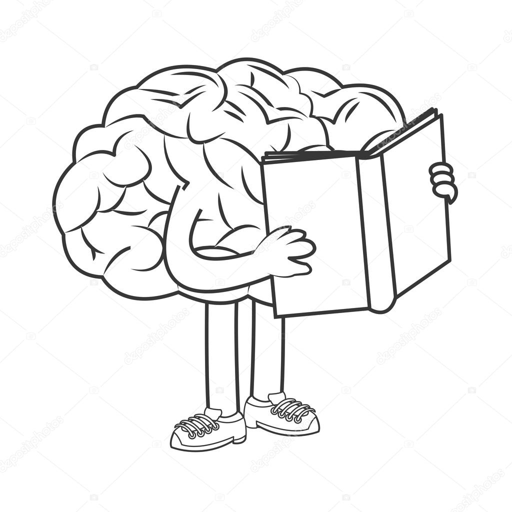 The human brain coloring book download