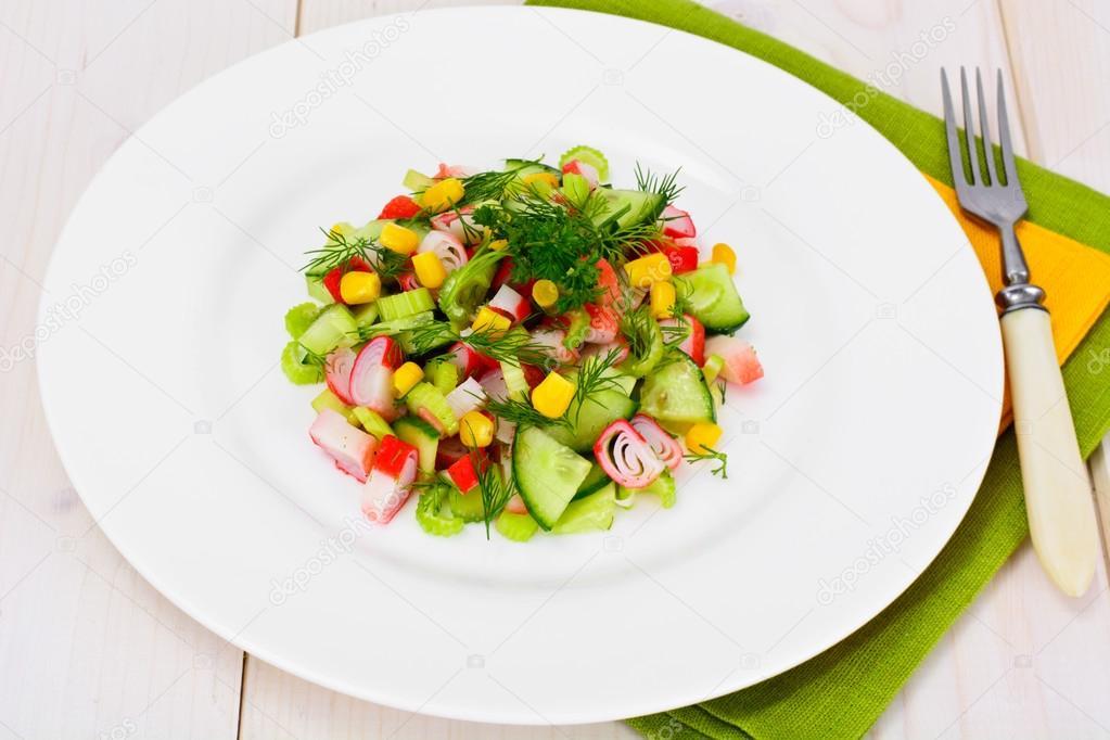 рецепт салата из сельдерея фото