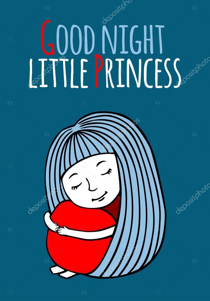 спокойной ночи принцесса картинки
