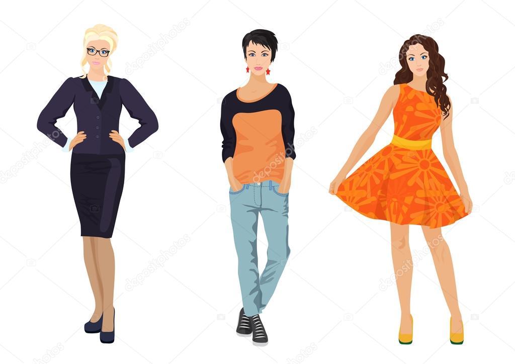 Уличный стиль модные платья