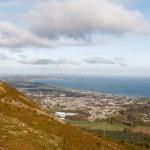 Постер, плакат: View of Bray and Irish Sea from Little Sugar Loaf