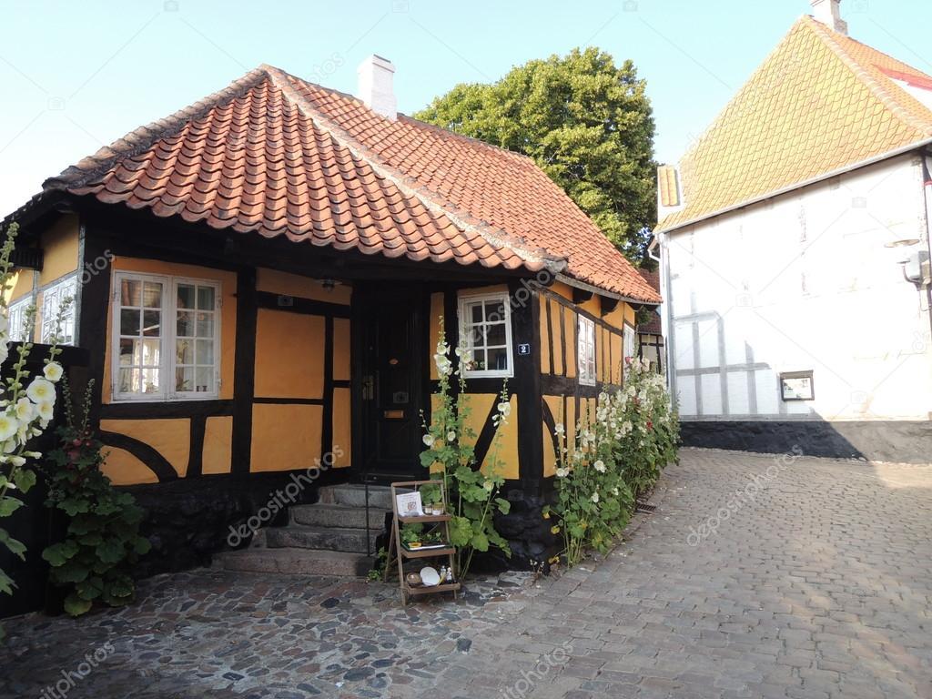 Gammal dansk stad