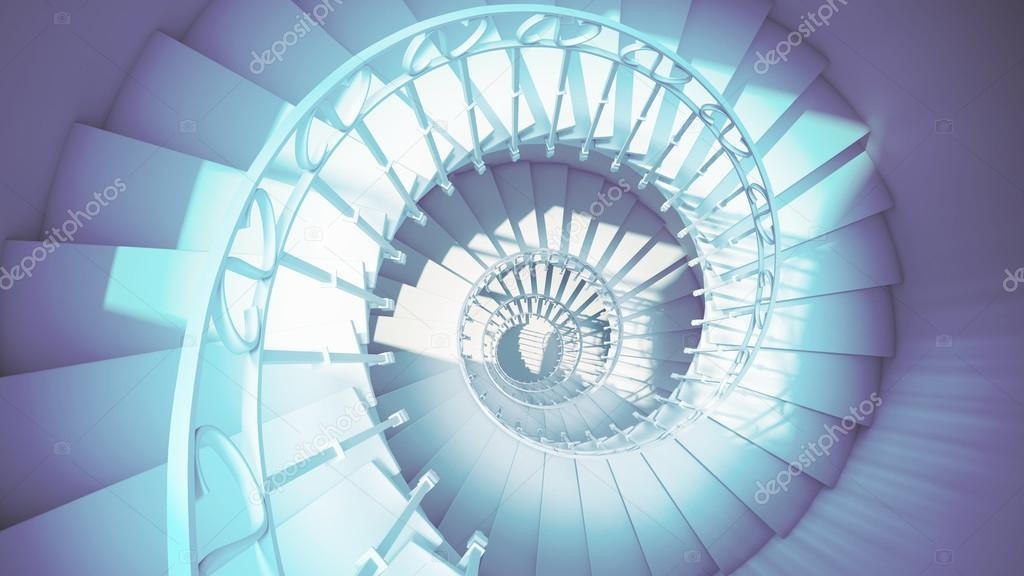 <b>Abstract</b> Vector <b>Blue</b> Techno <b>Spiral</b> Background Stock Vector - Image ...