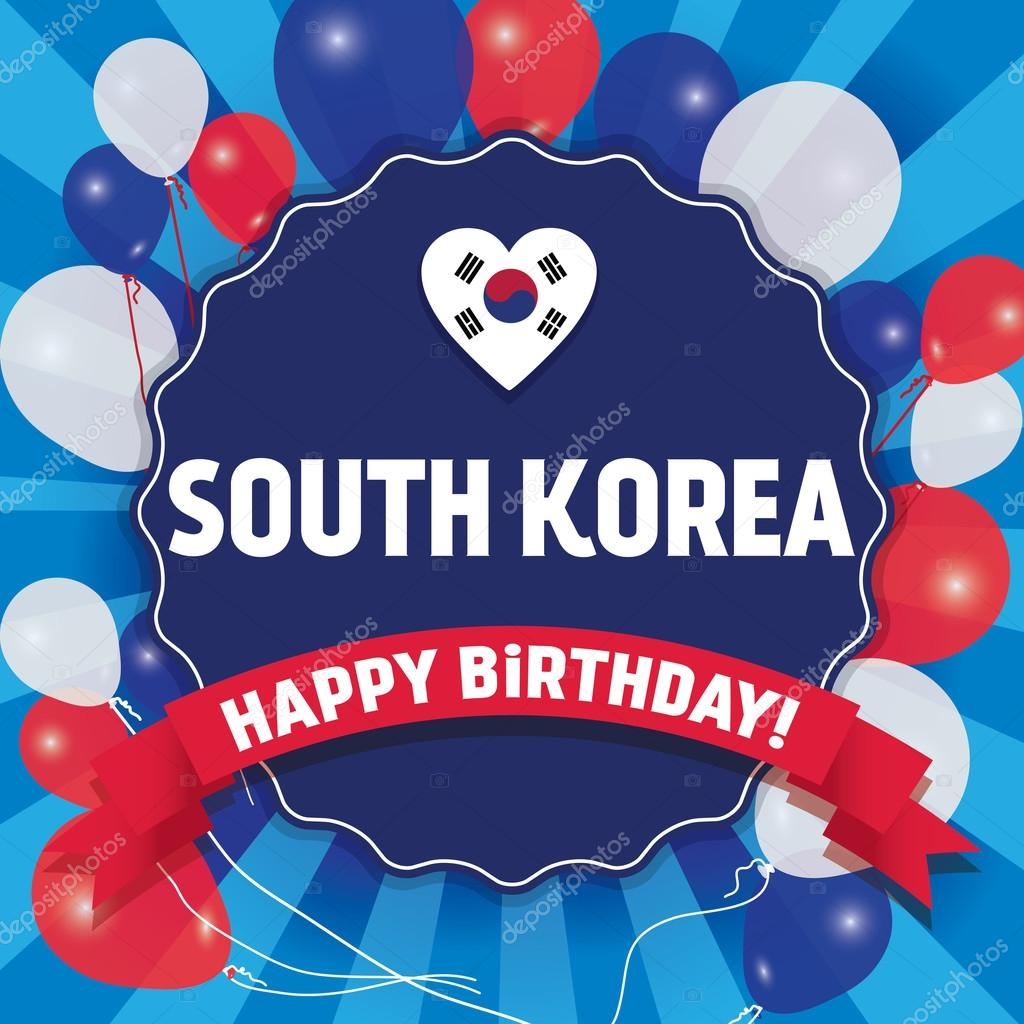 Happy Birthday South Korea