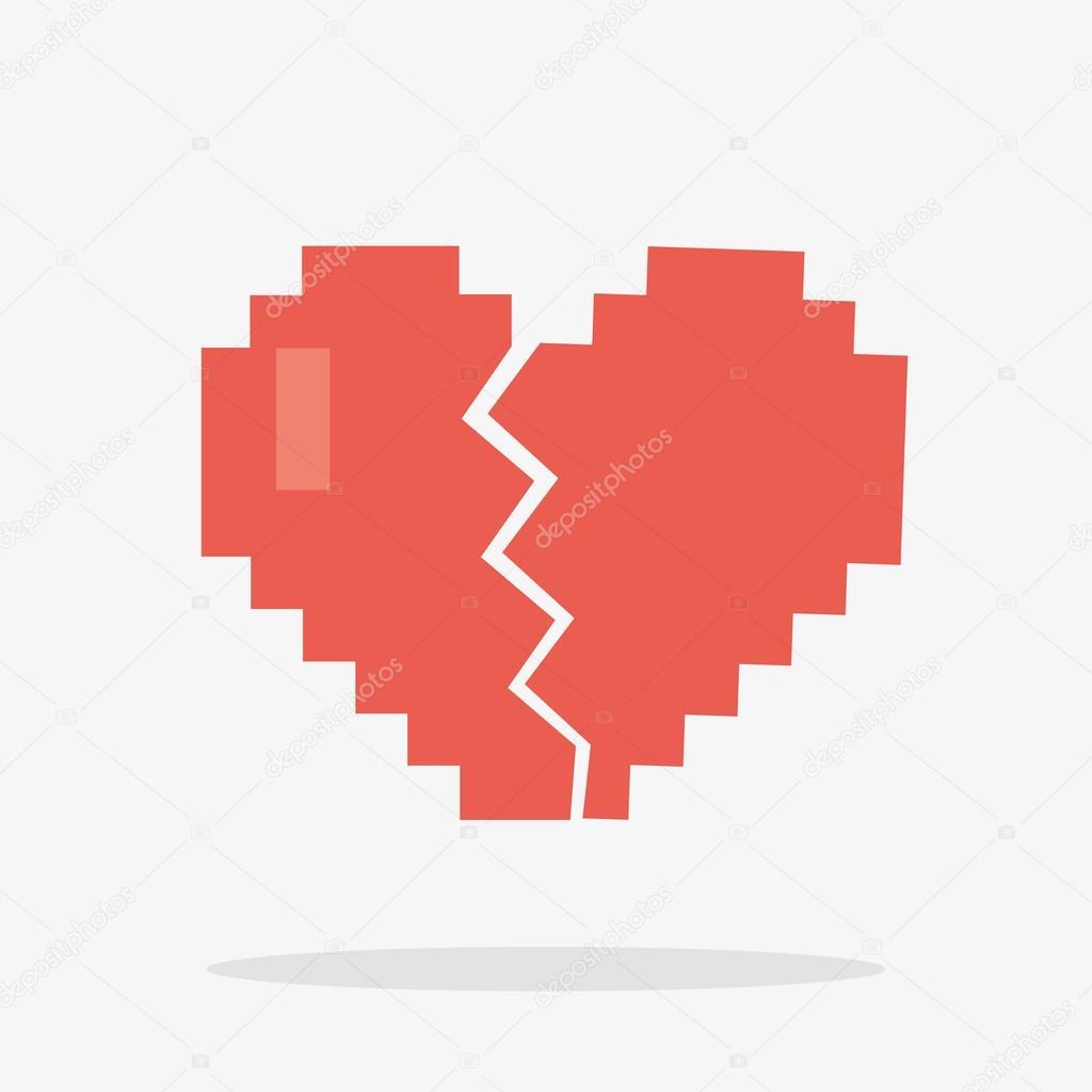 Depositphotos 93265124 8 bit broken heart icon jpg