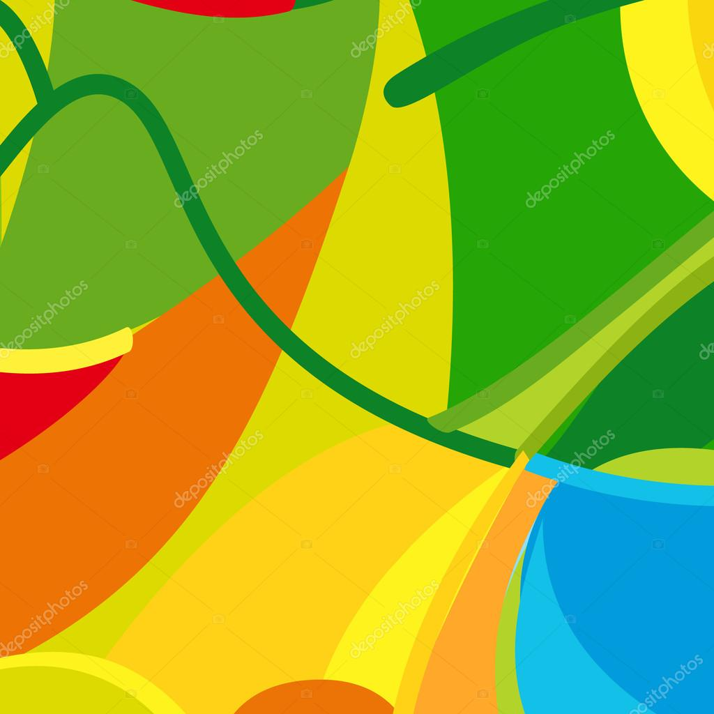 Rio 2016 Olympic Games Summer Color Background Abstract