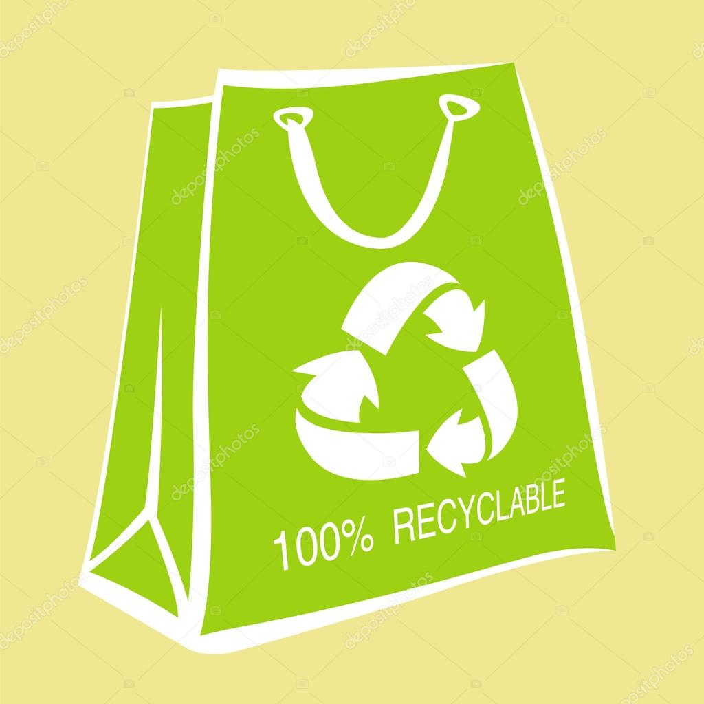 Are paper bags environmentally friendly? Can they be recycled?