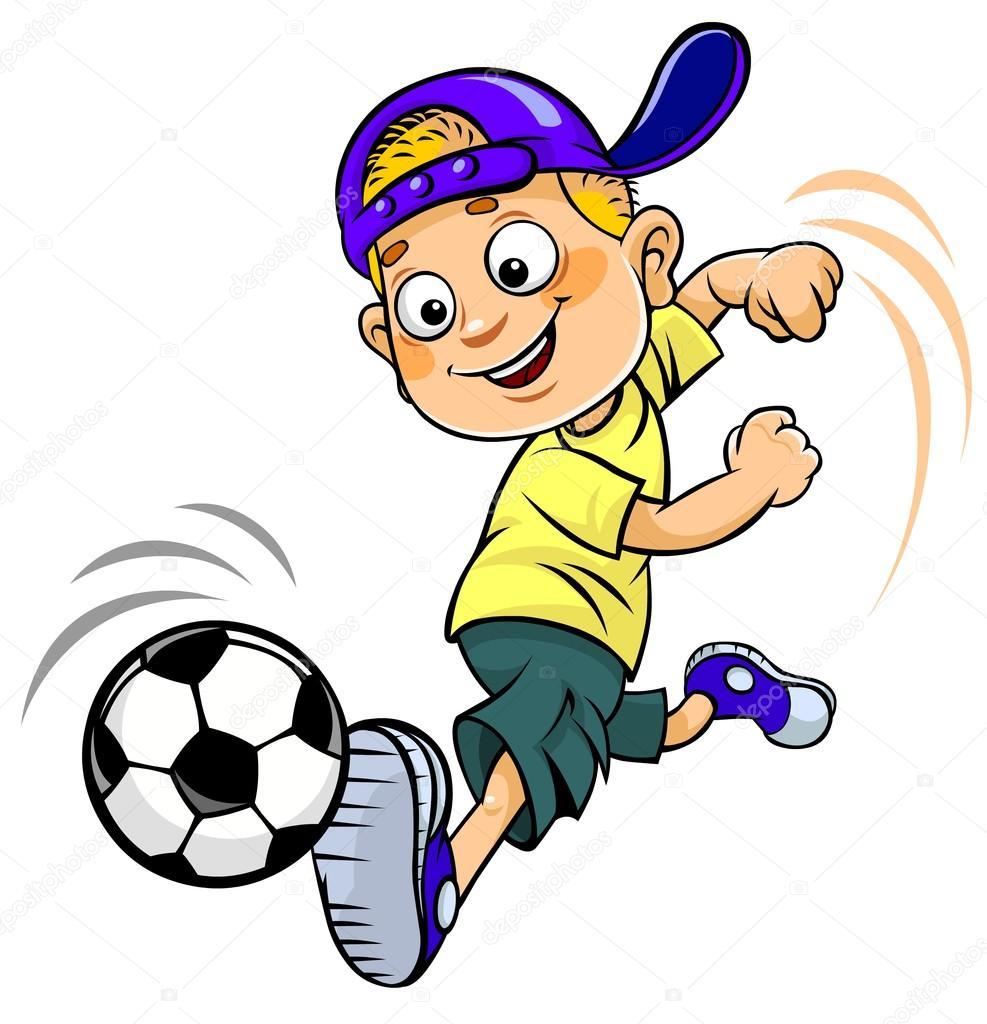 Fussball Cartoons