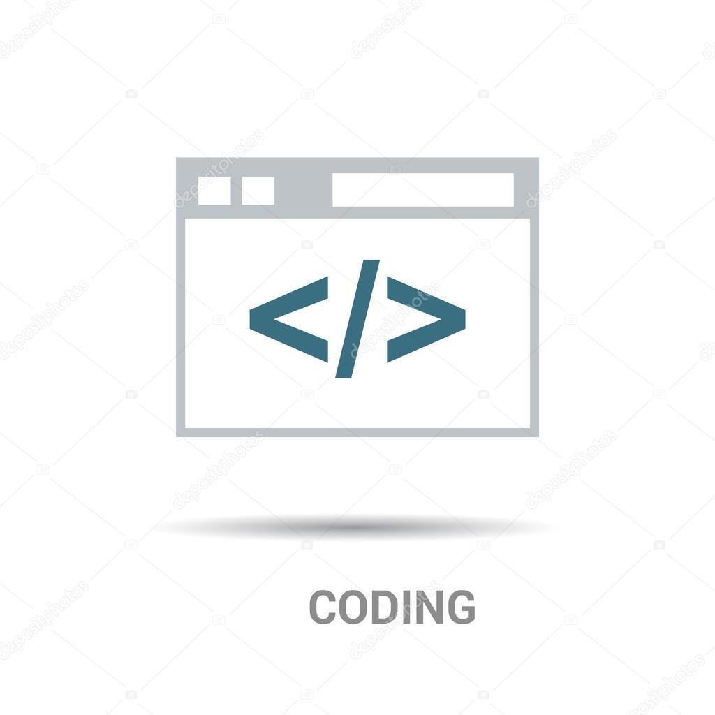 编码的程序图标 — 图库矢量图像08