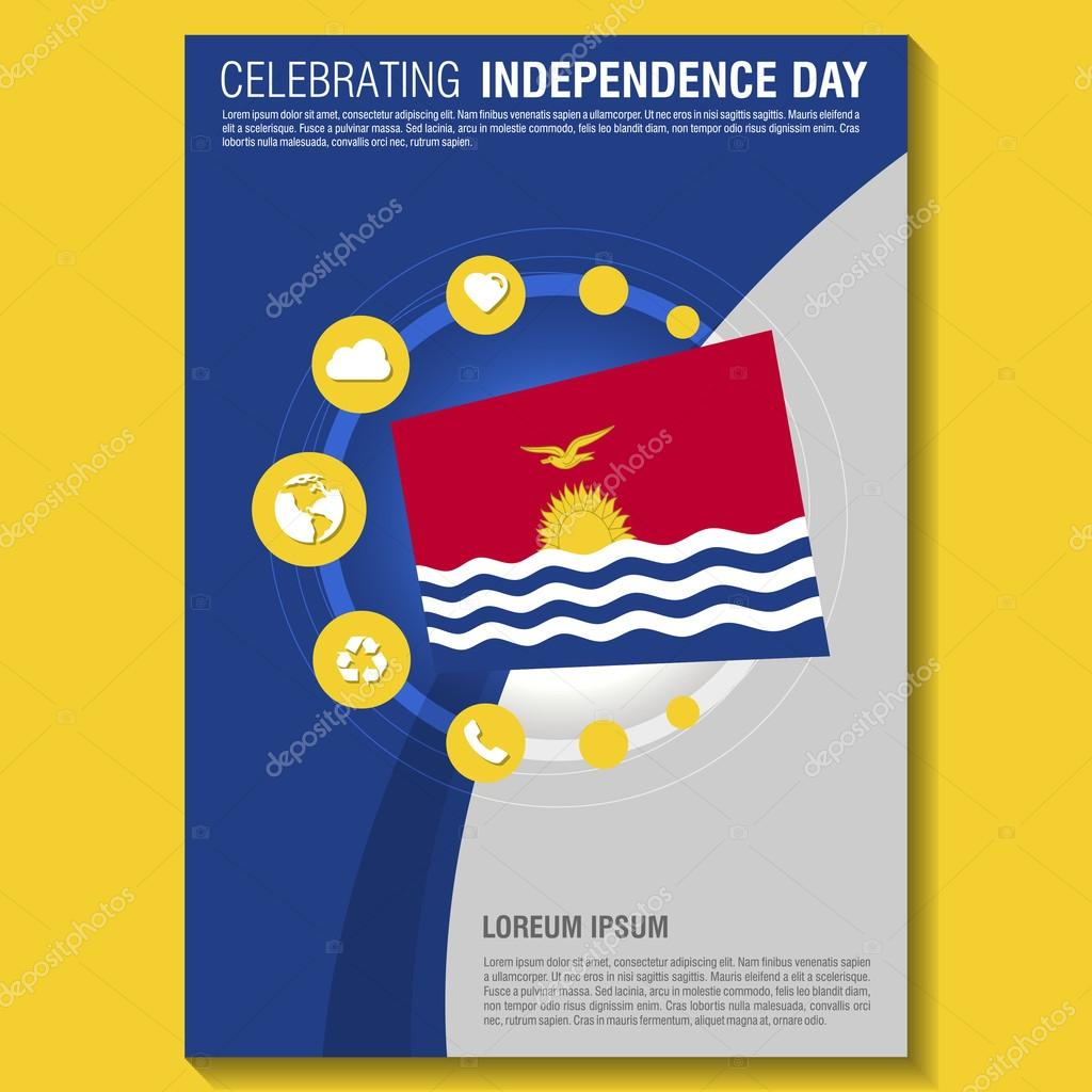independence day brochure stock vector copy ibrandify independence day flyer template creative brochure title page national day leaflet design element vector illustration vector by ibrandify