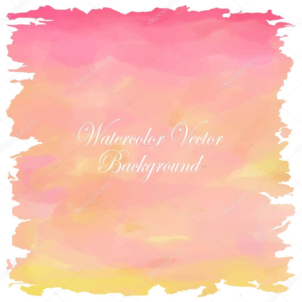 Fondo Pastel Amarillo Naranja Rosa Blanca Luz De Amor En