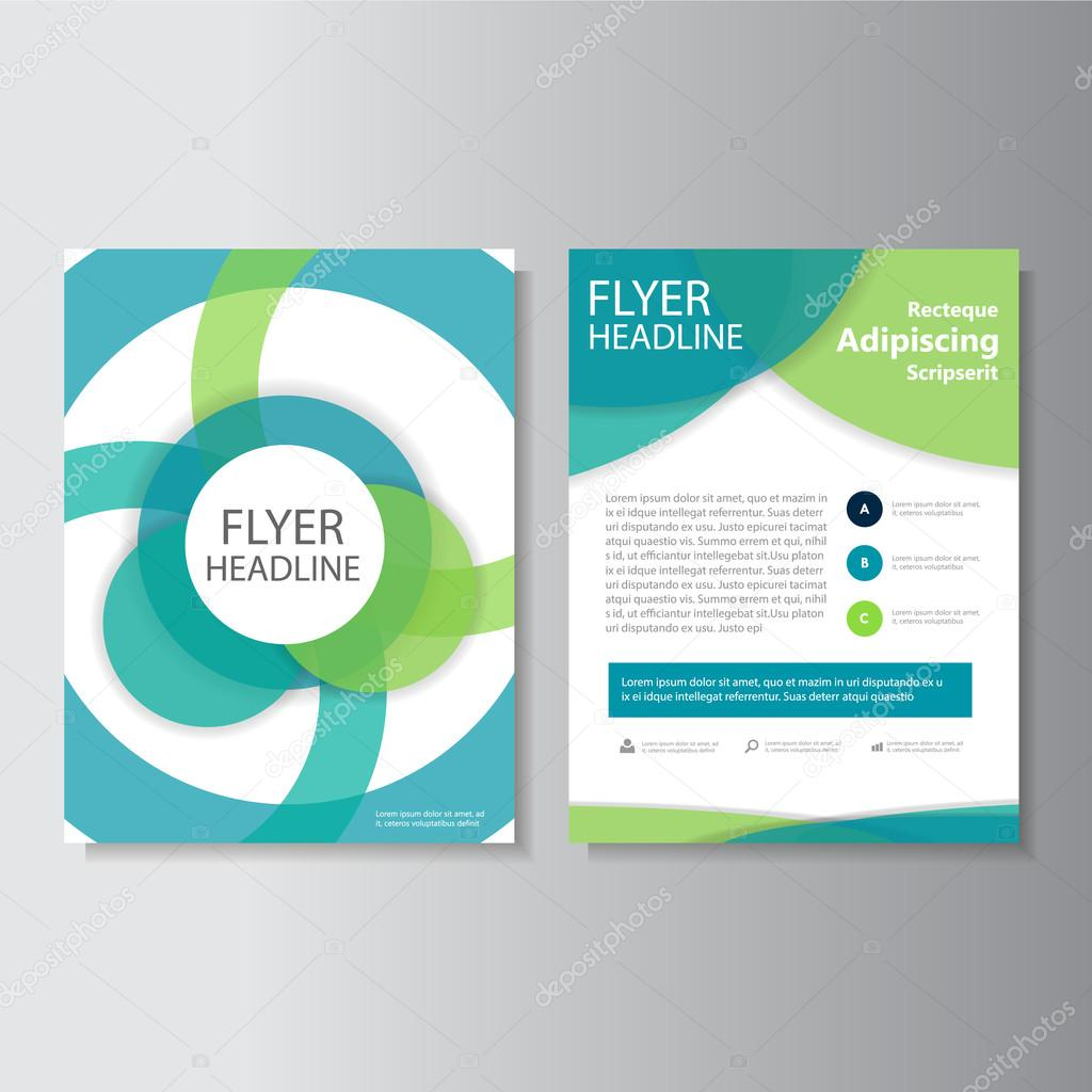 green blue vector annual report leaflet brochure flyer template green blue vector annual report leaflet brochure flyer template design book cover layout design
