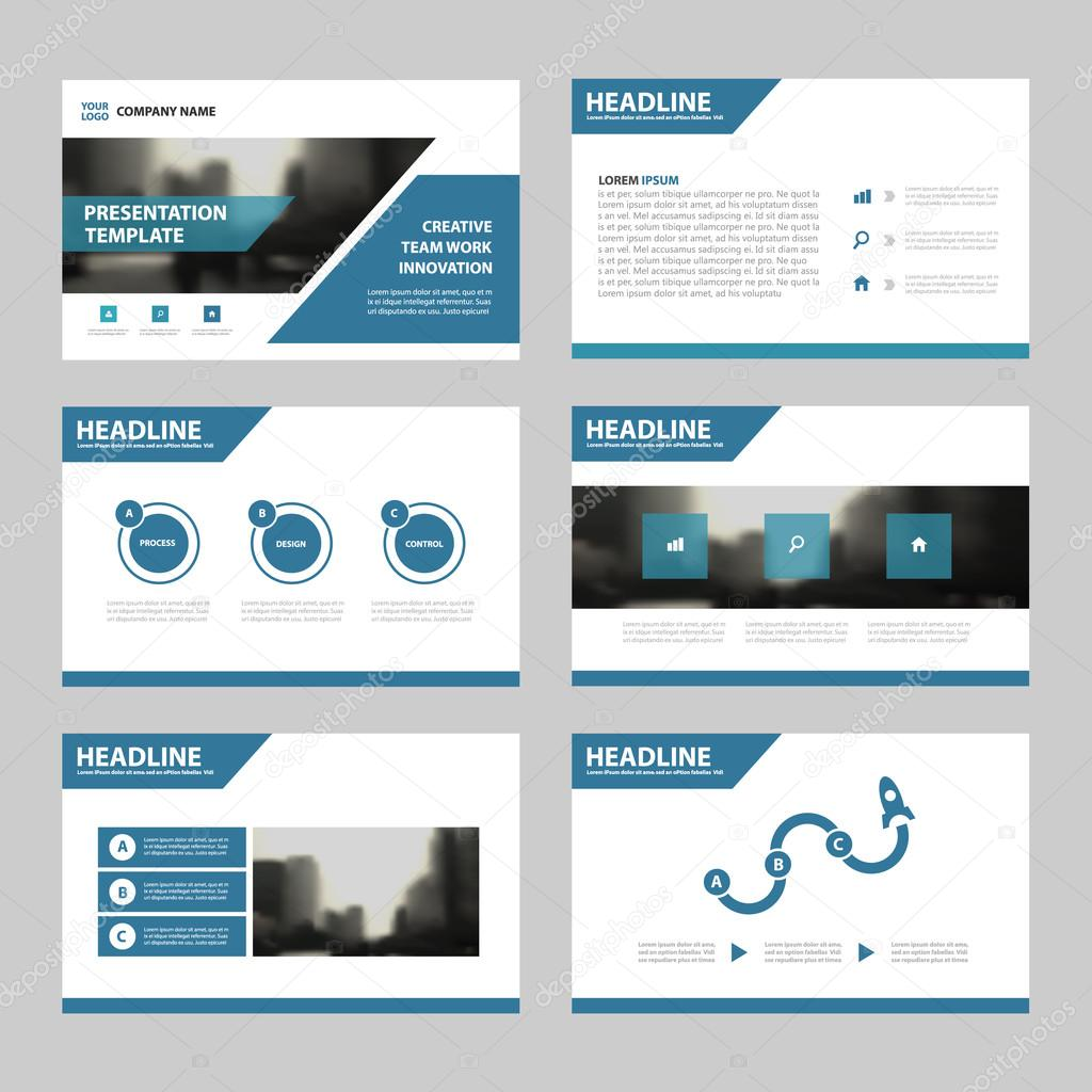 blue abstract presentation templates infographic elements blue abstract presentation templates infographic elements template flat design set for annual report brochure flyer leaflet marketing advertising banner