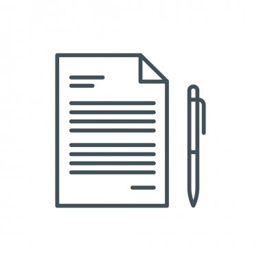 Contract icon theme icon