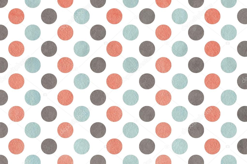 Pink and blue background dots
