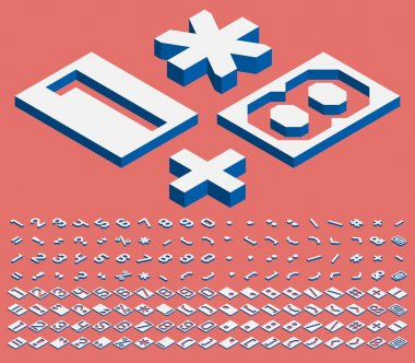 Isometric numbers and punctuation marks
