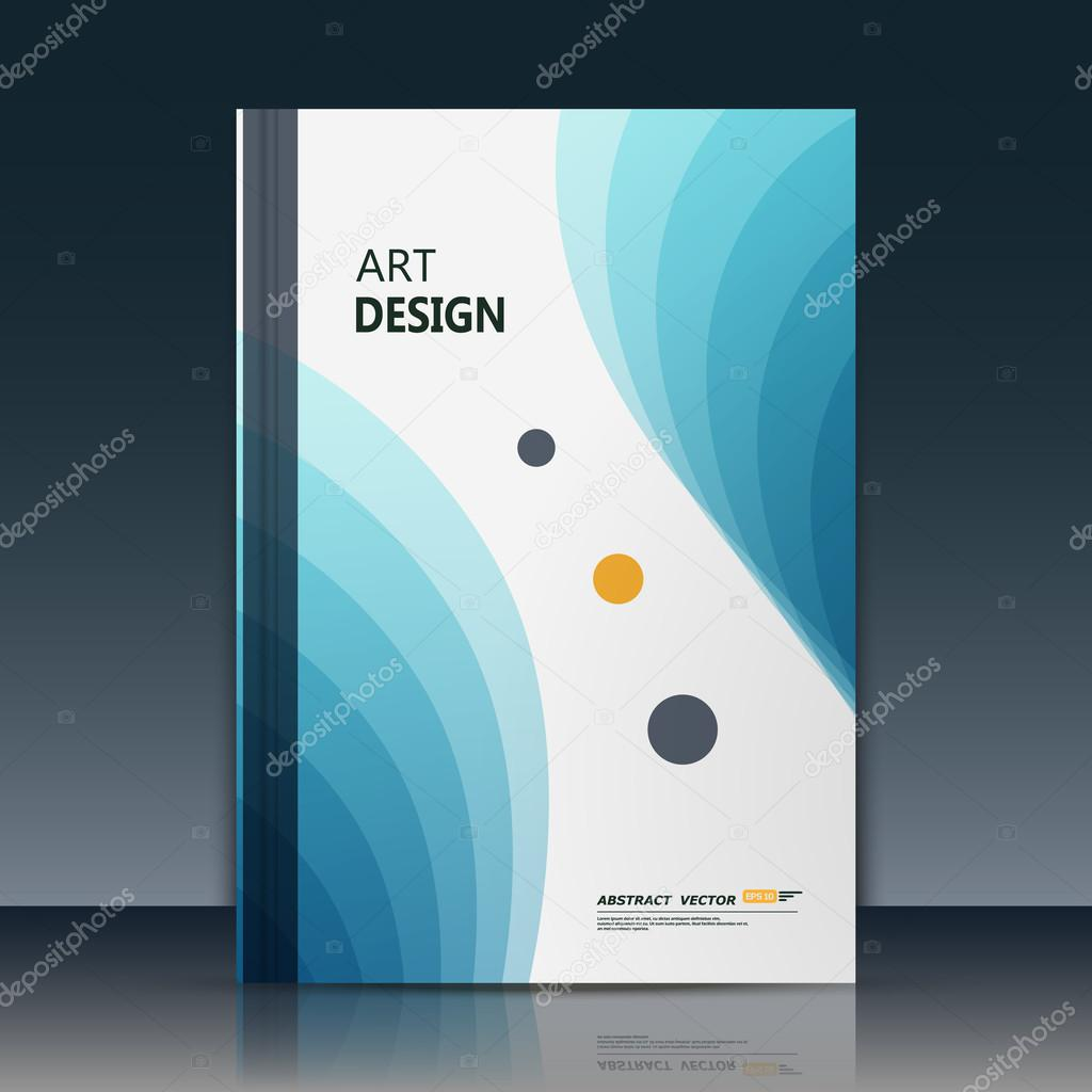 abstract blurb theme  text frame surface  white a4 brochure cover design  title sheet art model